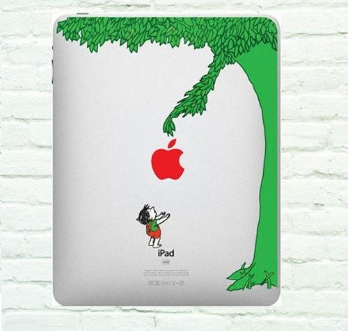 Apple Tree iPad Decal iPad Stickers iPad iPad 2 Decals by ttpony