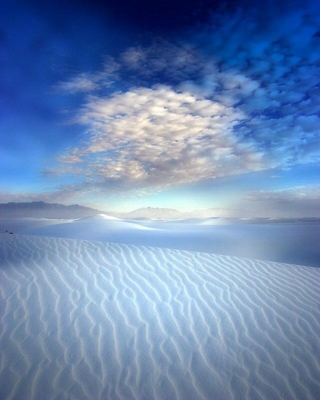Alone in the White Desert: Photo by Photographer Brian Klimowski - photo.net