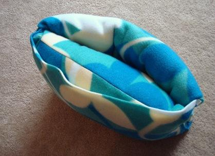 Morgan Made It   Fleece Travel Blanket and Pillow
