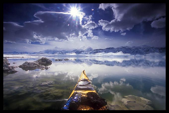 Sun Breaks Through, Mono Lake: Photo by Photographer Brian Ernst - photo.net