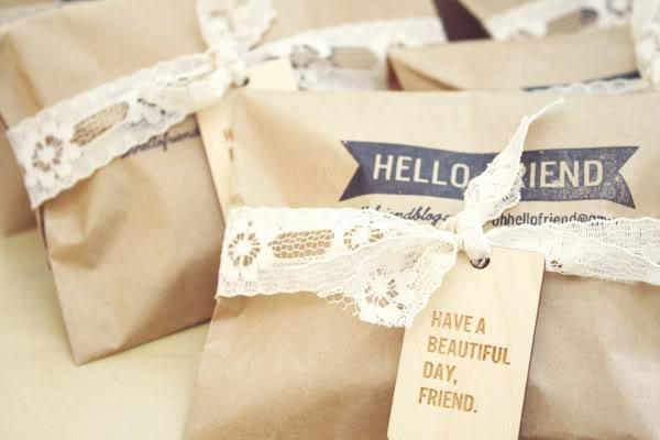 oh, hello friend: you are loved.: etc packaging: