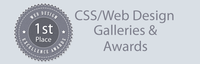 208 CSS Gallery & Award Sites to Submit to