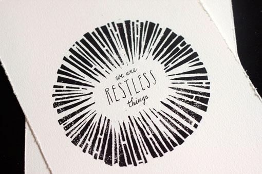 design work life » Jordan Metcalf: Pictures | Words Exhibition