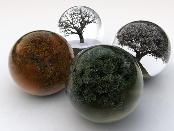 winter,trees winter trees autumn glass seasons summer balls spring white background 2048x1536 wallpaper – Trees Wallpaper – Free Desktop Wallpaper
