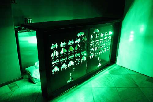 Space Invaders Bar