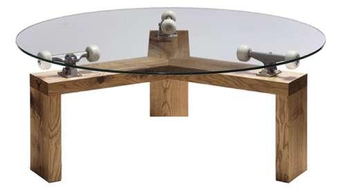 Skateboard Table