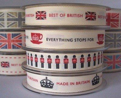 Best of British Jubilee Ribbon Two Metres 2012
