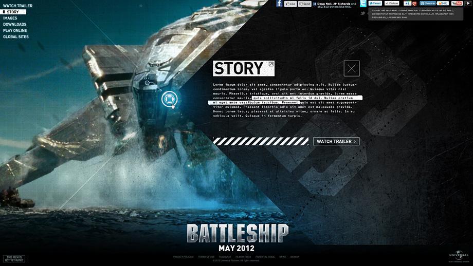 Justin Carroll — Battleship