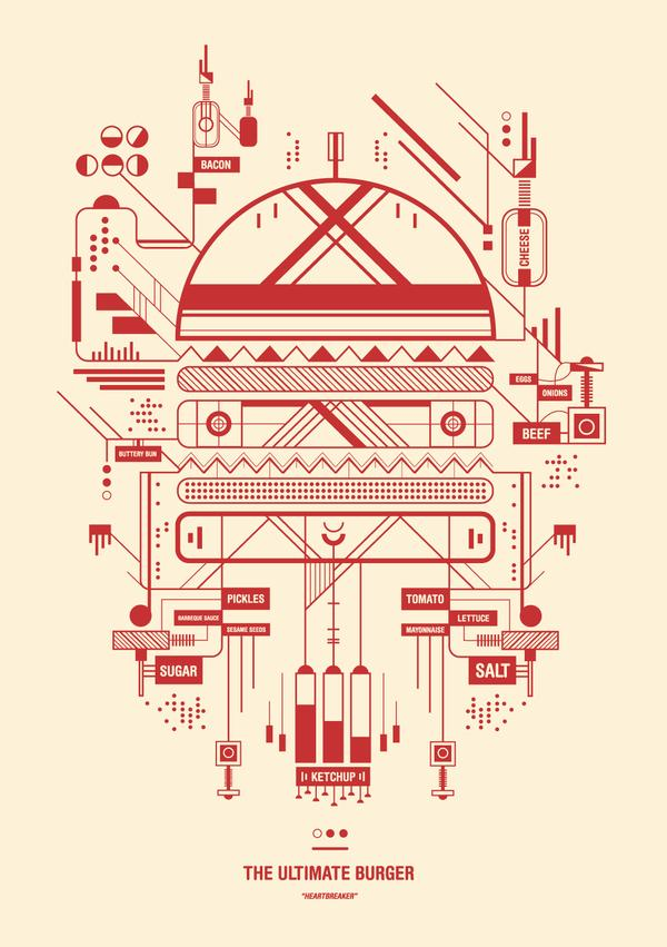 Outstanding Illustrations by UK Artist Petros Afshar | inspirationfeed.com