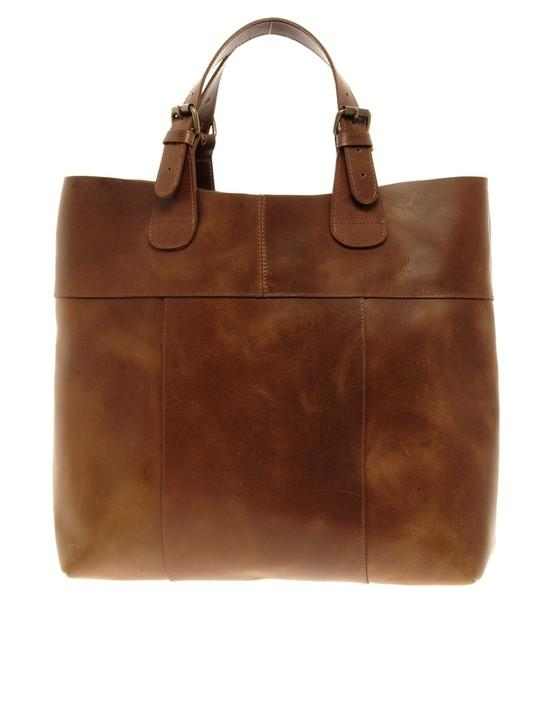 My Style / $125.24 ohh yes brown leather bag