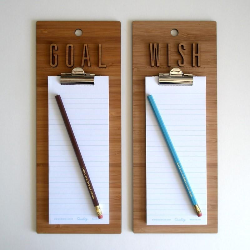 Make My Wishes Come True Clipboard by decoylab on Etsy