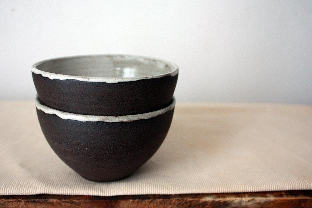 Everything Bowl in Coconut by clamlab on Etsy