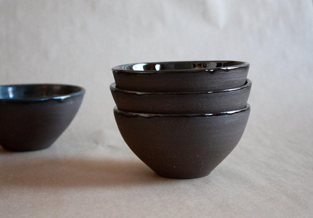 Everything Bowl in Chocolate by clamlab on Etsy