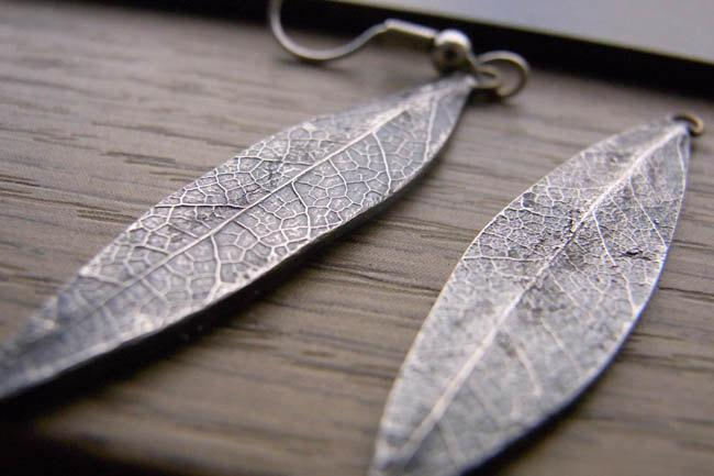 Leaf it on my Ear by TadashiKoizumi on Etsy