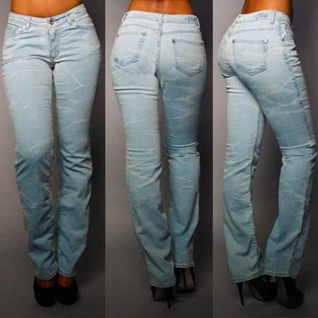 WISTERIA STRAIGHT LEG JEAN - Jeans/Bottoms