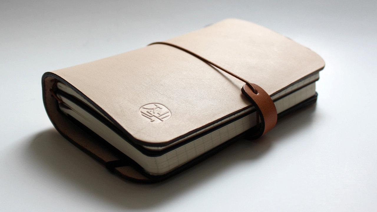 Leather cover for Moleskine Journals and Cahiers by zenokleather