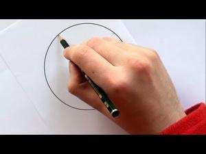 Draw a Perfect Circle Without Any Extra Tools