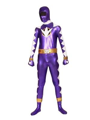 Ethan Blue Abaranger Power Rangers Superhero Costume
