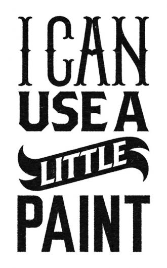 Designspiration — I Can Use A Little Paint - Benny Arts
