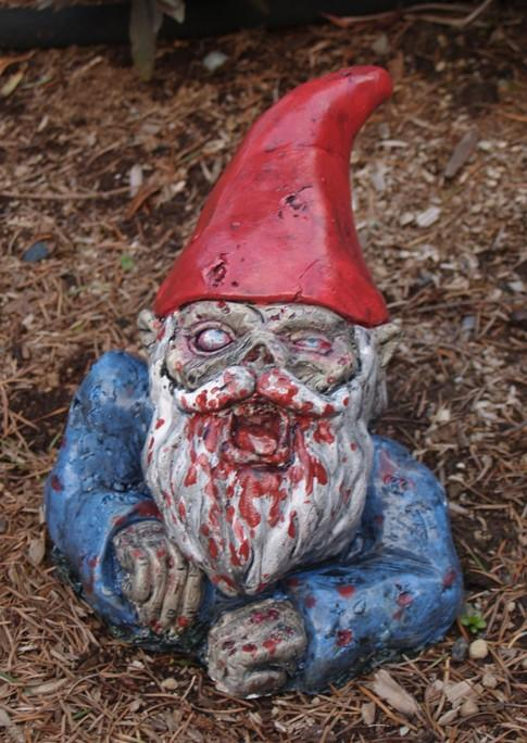 Zombie Garden Gnome Rising Dead Allow 56 weeks for by dougfx