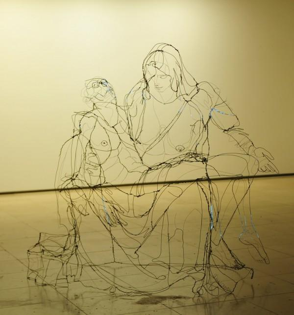David Oliveira's Wire Sculptures | Trendland: Fashion Blog & Trend Magazine