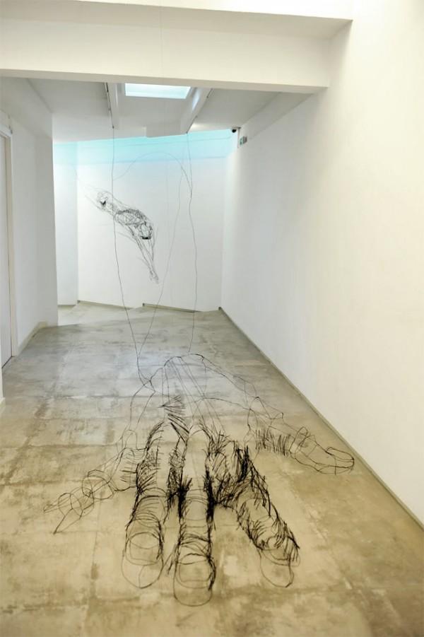 David Oliveira's Wire Sculptures | Trendland: Fashion Blog & Trend Magazine
