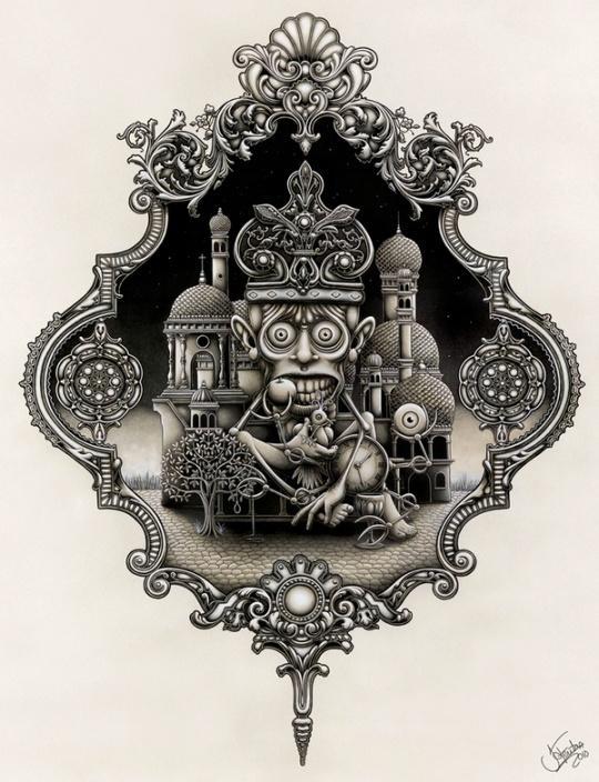 Amazing Illustrations by Joe Fenton | Cruzine