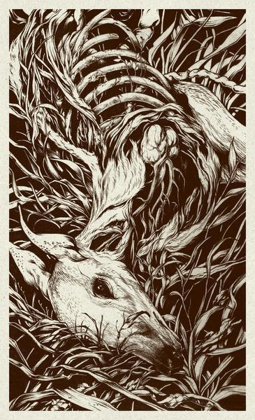 doe-eyed Art Print by Teagan White   Society6
