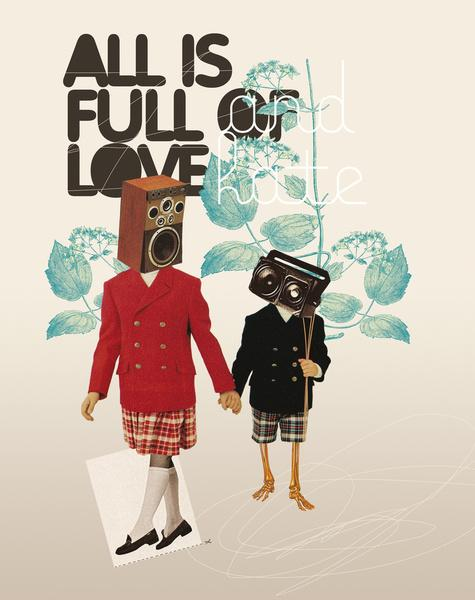 ALL IS FULL OF LOVE Stretched Canvas by Nazario Graziano | Society6