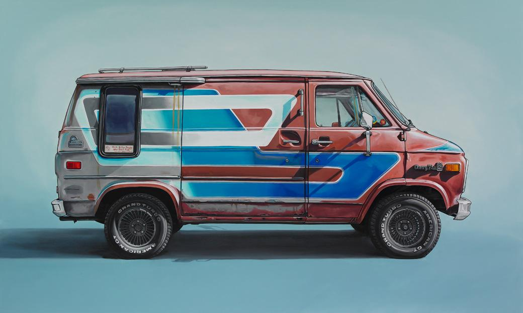 Oil Paintings of Retro Vehicles by Kevin Cyr | inspirationfeed.com