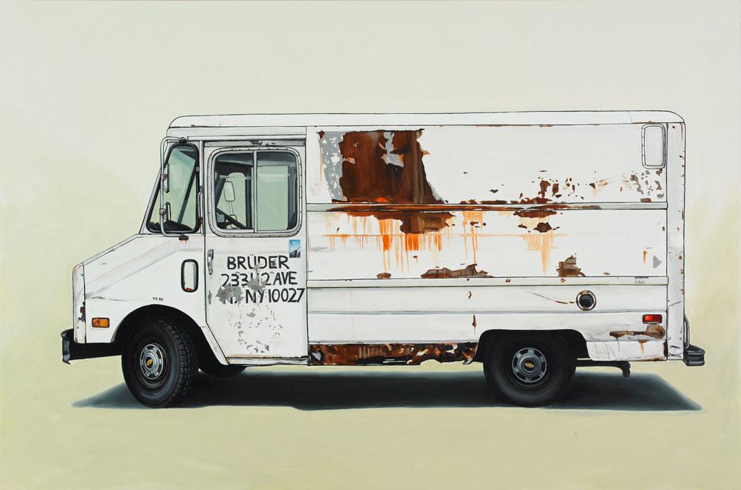 Oil Paintings of Retro Vehicles by Kevin Cyr   inspirationfeed.com