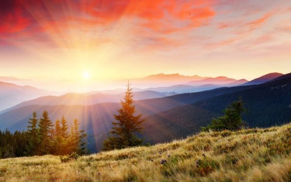 sunsets,landscapes sunsets landscapes sunbeams 2560x1600 wallpaper – Sunsets Wallpaper – Free Desktop Wallpaper
