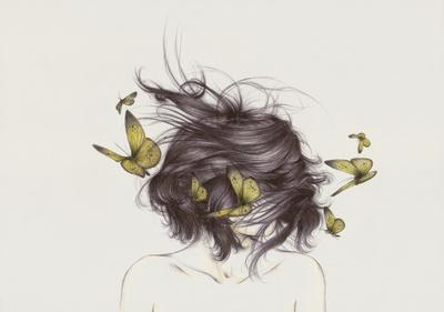 Hair III Art Print by The White Deer | Society6