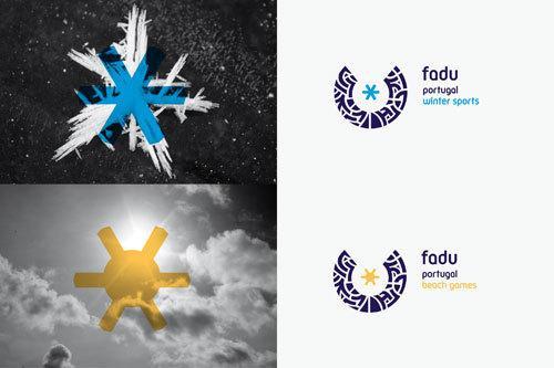 corporate identity / fadu on Branding Served