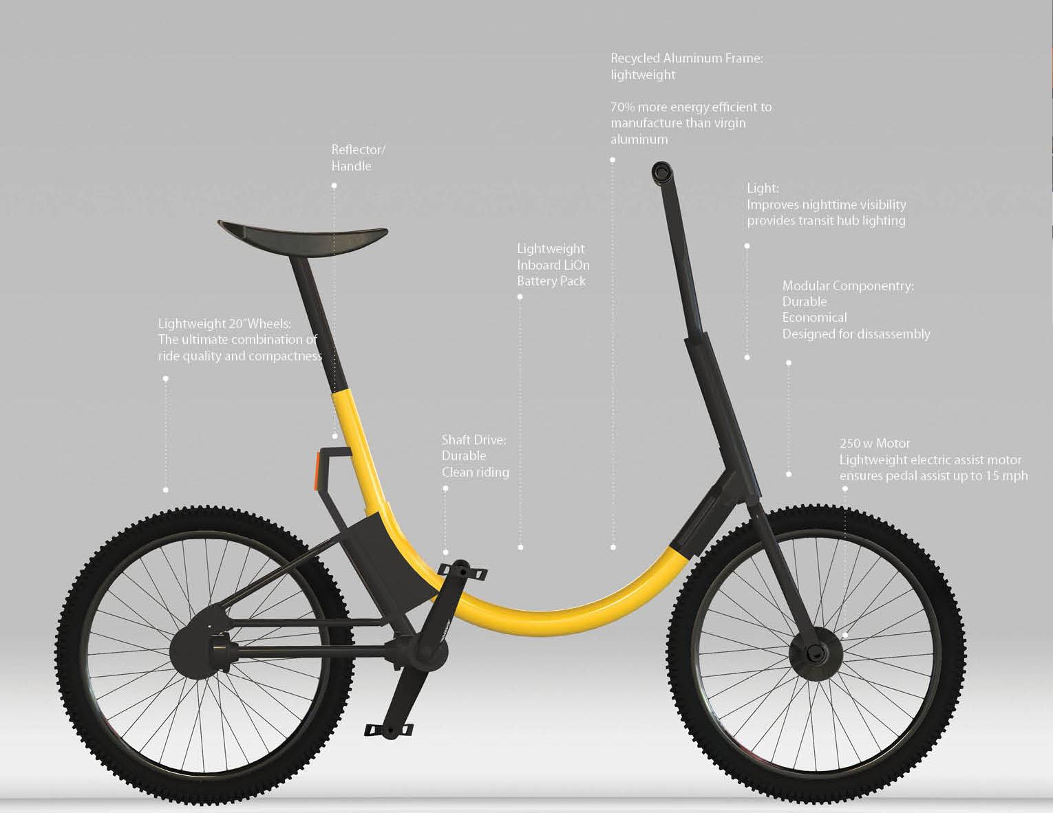 Folding Electric Bike for Commuters by Gabriel — Kickstarter