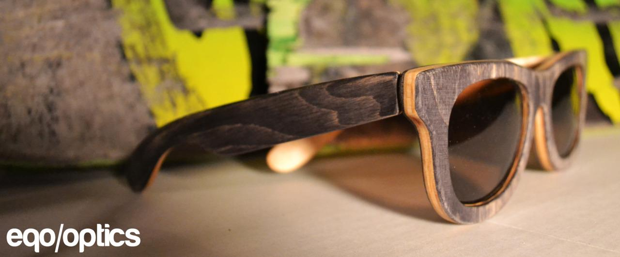 Eqo Optics - Handmade Eyewear from Recycled Skateboards by Jon Winfrey — Kickstarter