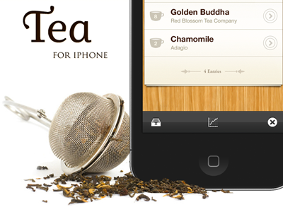 Tea for iOS Website by Mac Tyler