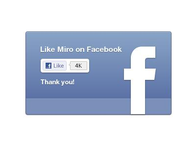 Facebook like UI for Miro (plus free resource) by Morgan Allan Knutson