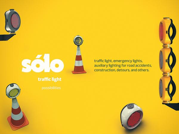 Sólo - traffic light