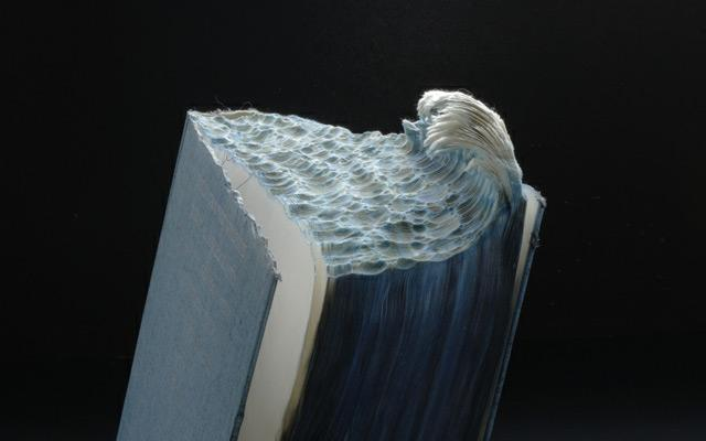 New Carved Book Landscapes by Guy Laramee | Colossal