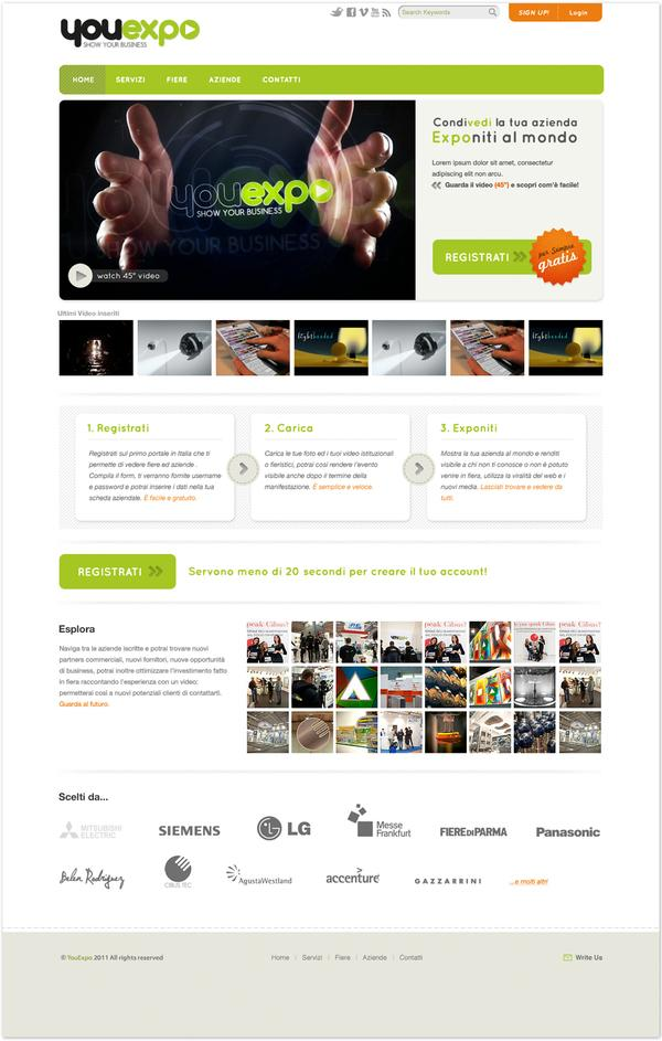 Youexpo on Web Design Served
