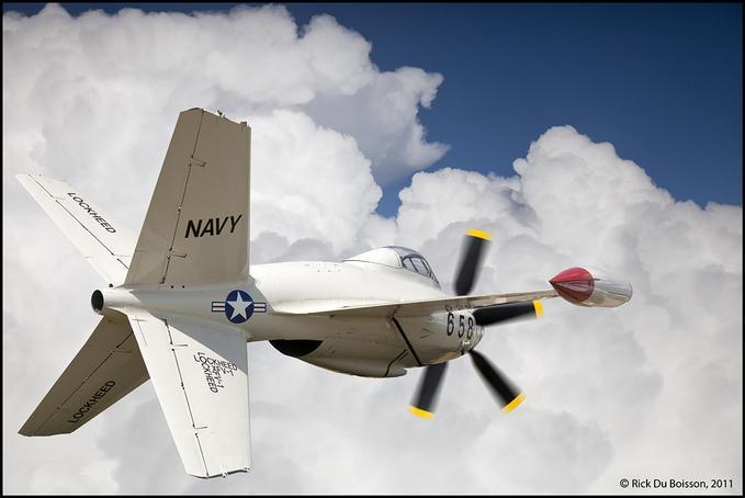 Lockheed XFV-1: Photo by Photographer Rick Du Boisson - photo.net