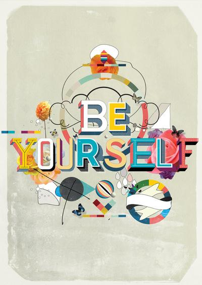 Be Yourself Art Print by Kavan & Co | Society6