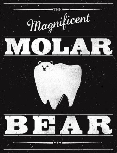 Molar Bear (Gentlemen's Edition) Art Print by Zach Terrell | Society6
