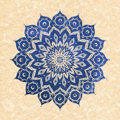 ókshirahm sky mandala Art Print by Peter Patrick Barreda | Society6