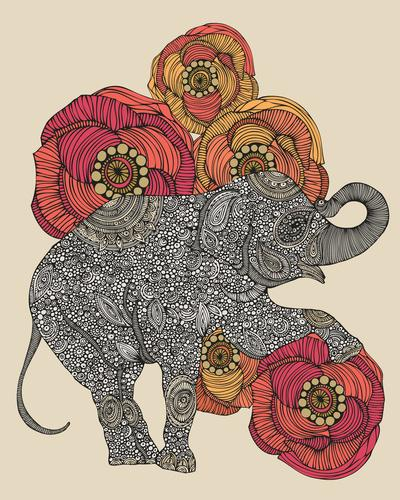 Rosebud Art Print by Valentina | Society6