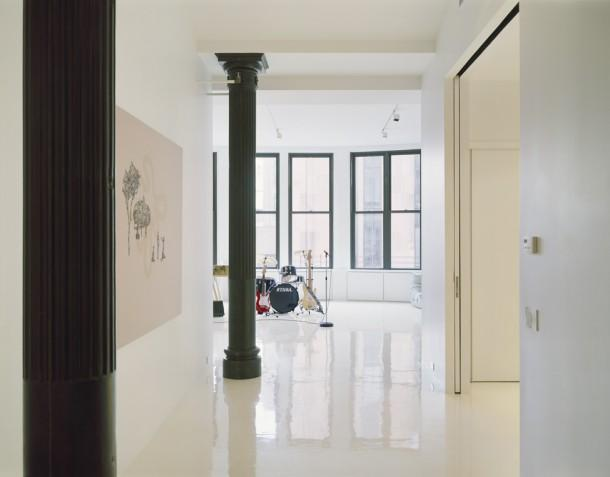 An artists apartment in New York
