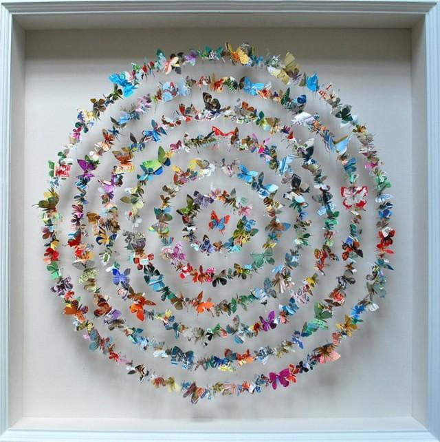 Paper Butterfly Art – Fubiz™
