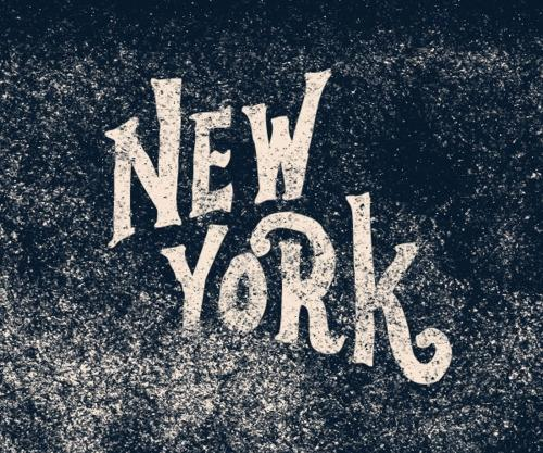 Designspiration — New York Typography