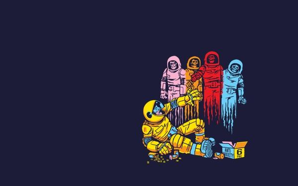 outer space,drugs outer space drugs comics zombies funny ghosts alternative art drawings pacman fun art 1440x900 w – Space Wallpaper – Free Desktop Wallpaper